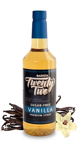 Sugar Free Vanilla Syrup | Barista 22