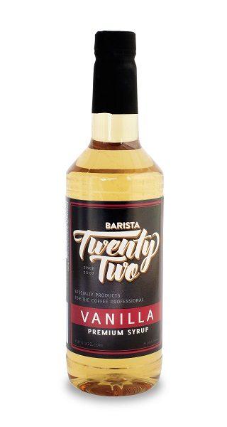Vanilla Syrup   Barista 22