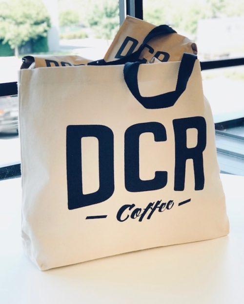 DCR Coffee Canvas Tote