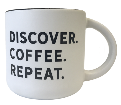 DCR Discover Coffee Repeat Mug