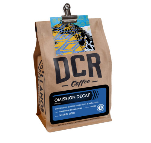 Omission Decaf by DCR Coffee