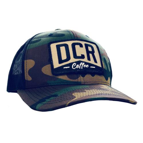DCR Camo Trucker Hat by Dillanos Coffee Roasters