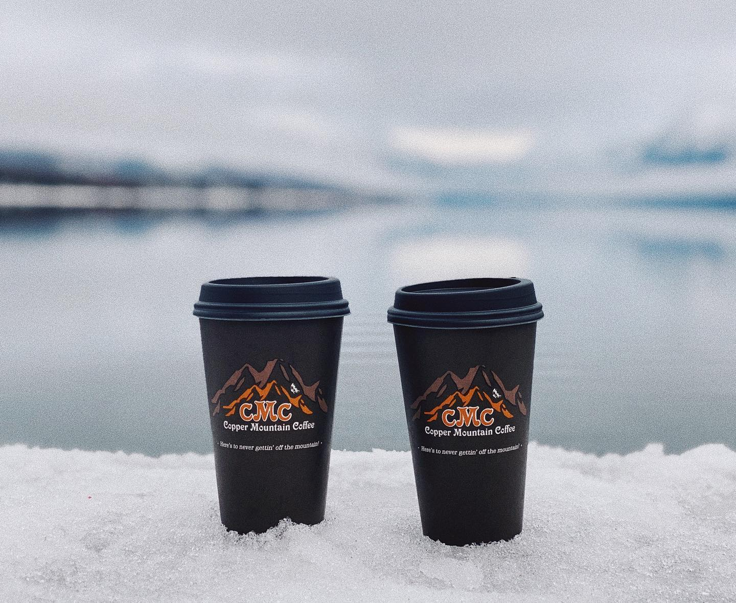 Copper Mountain Coffee, Montana | Cups with MT scenery