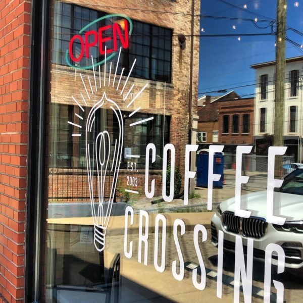 We're Open at Coffee Crossing