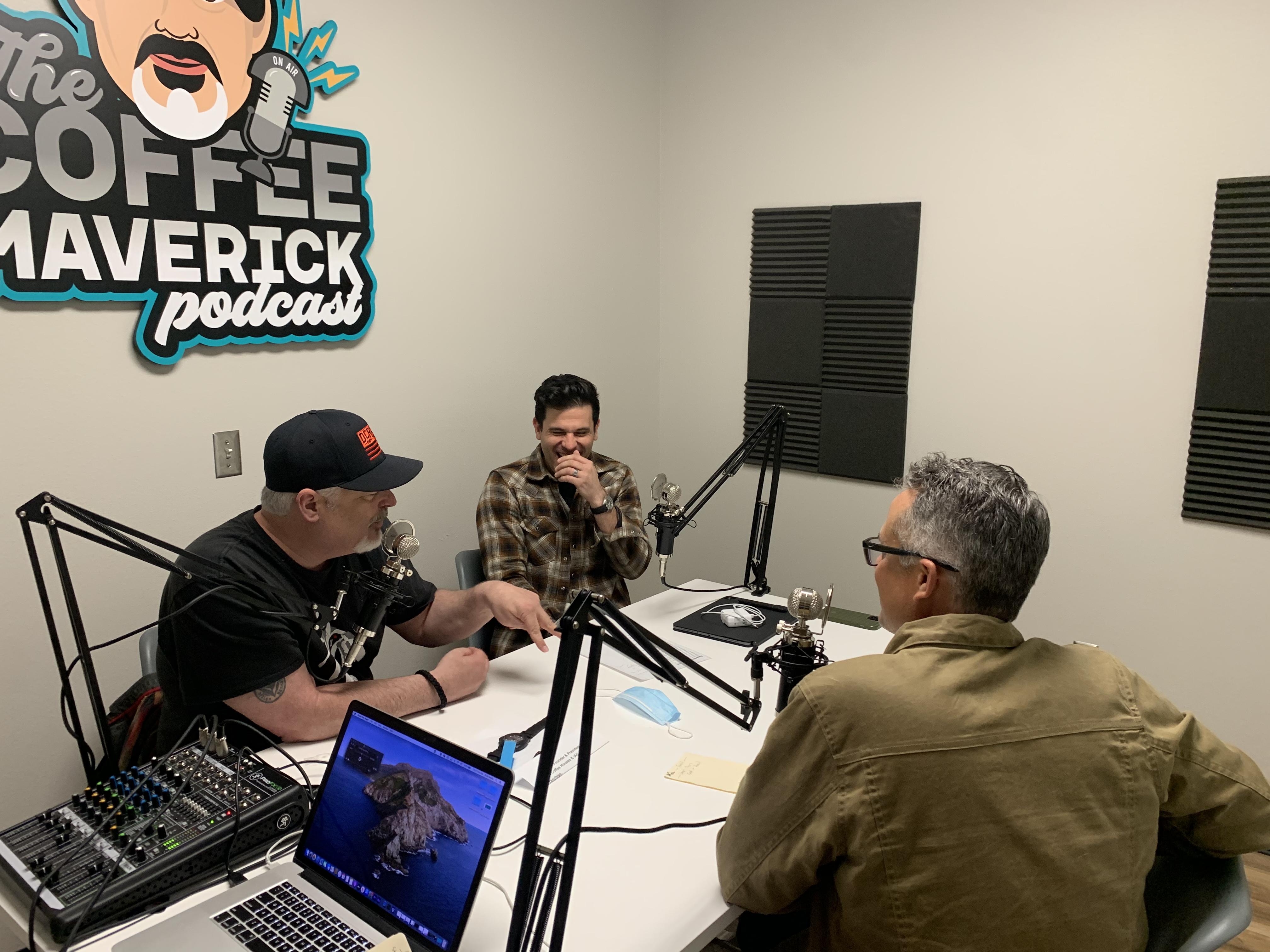 Chris Heyer on The DCR Coffee Podcast, Feb 2021