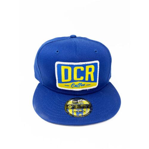 DCR Royal Blue Flat Bill Hat