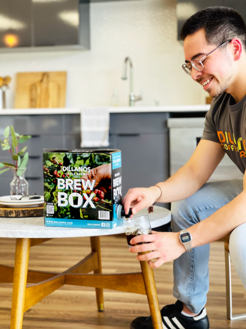 Cold brew made easy with Dillanos Brew Box