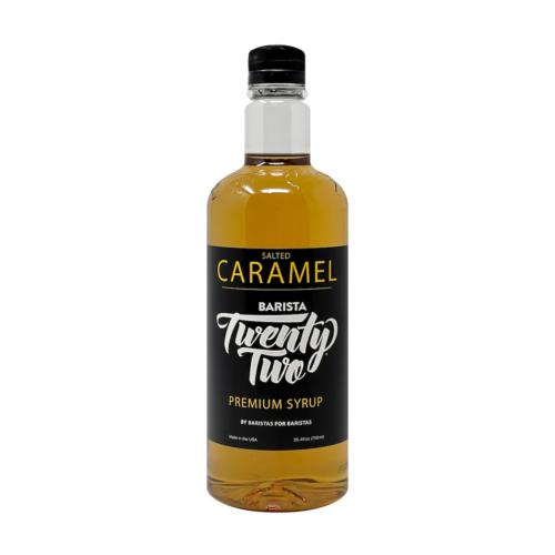 B22 Salted Caramel Syrup