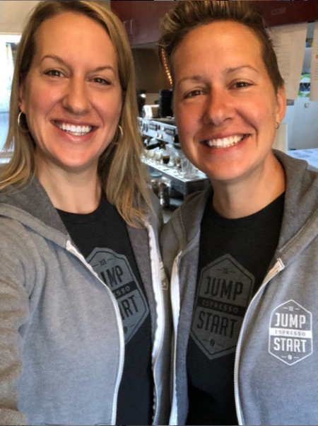Papke Sisters of Jump Start Espresso