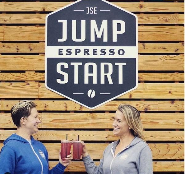 Stephanie Papke & Mykel Papke of Jump Start Espresso