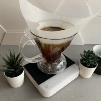 Brew Coffee with a Clever Dripper