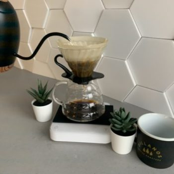Brew Coffee With a Pour Over